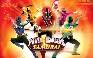 new power rangers samurai