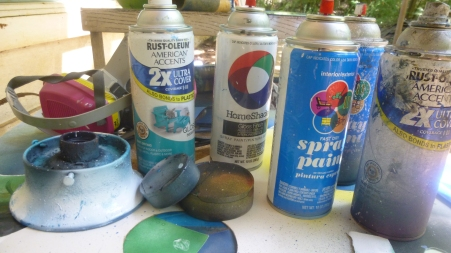 spray painting supplies