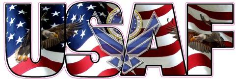 USAF-AMERICAN-FLAG-EAGLES-LETTERING