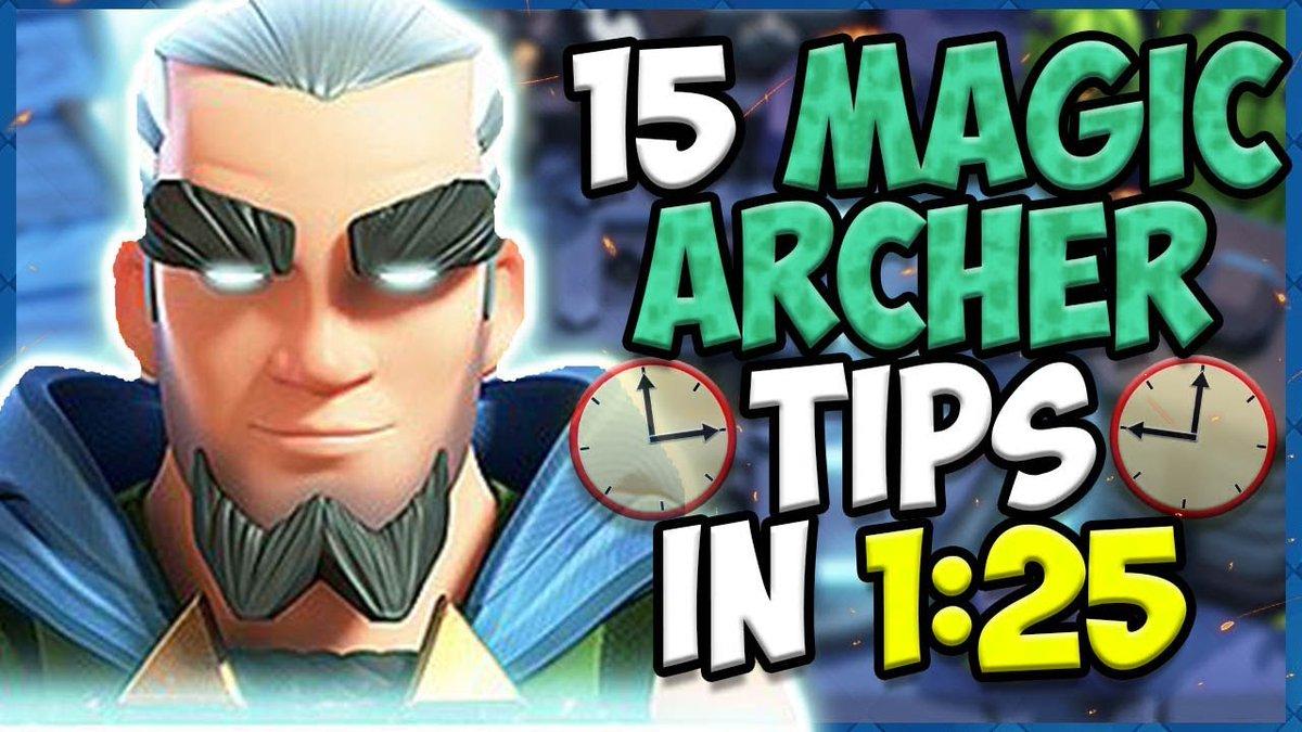 magic archer tips