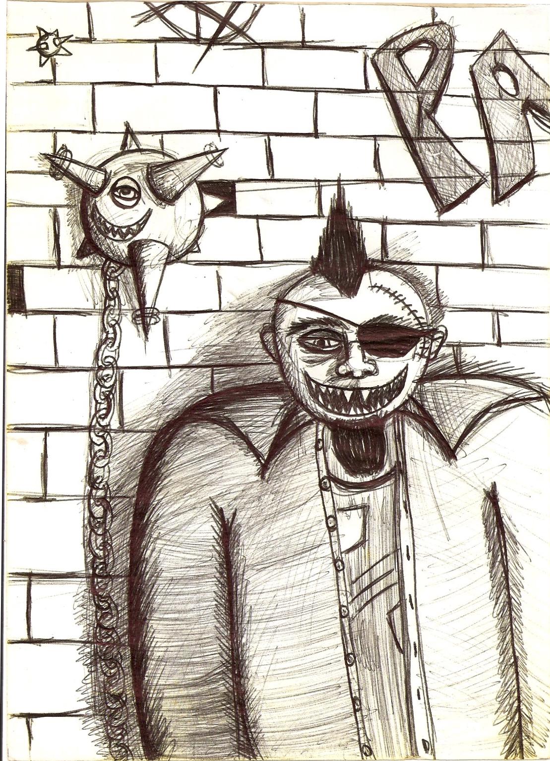 Guy with Spikey