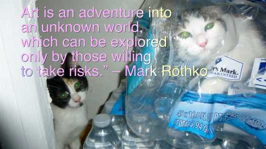 rothko cats