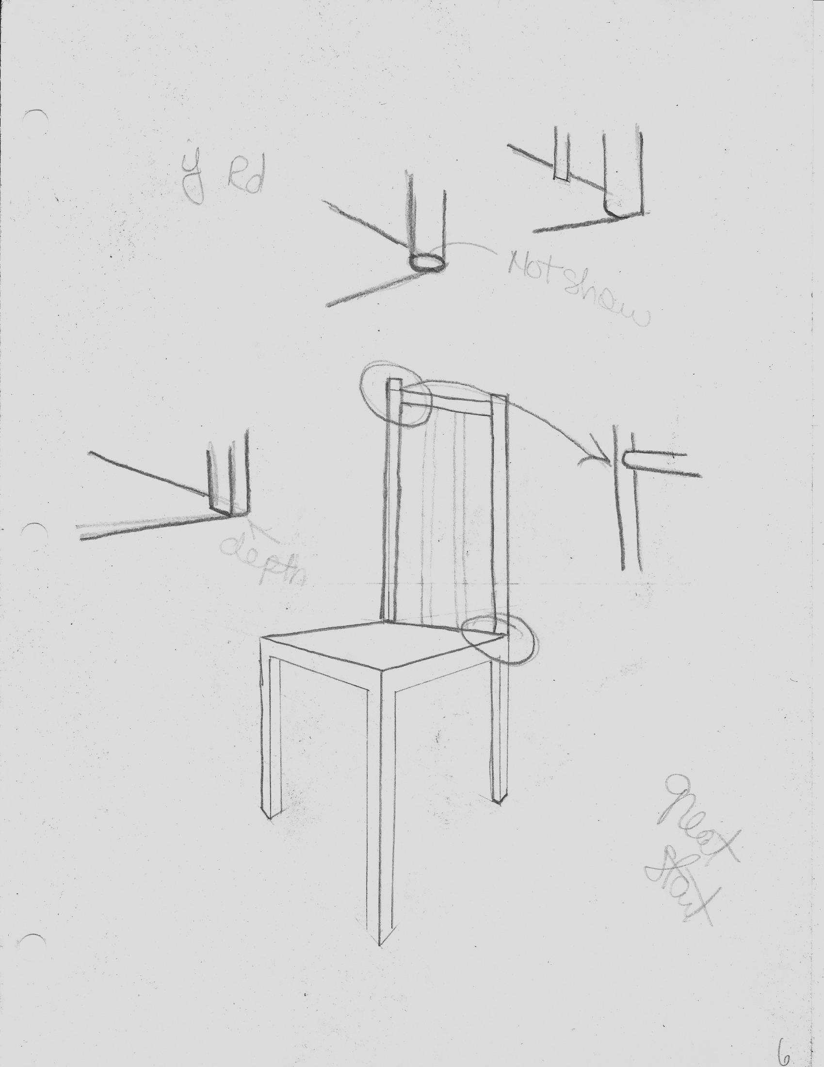 3. (6) Chair:Dreamcatcher