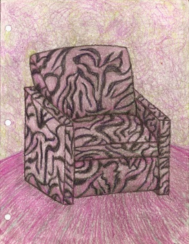 4. (17) Chair zebra:Teddy Bear
