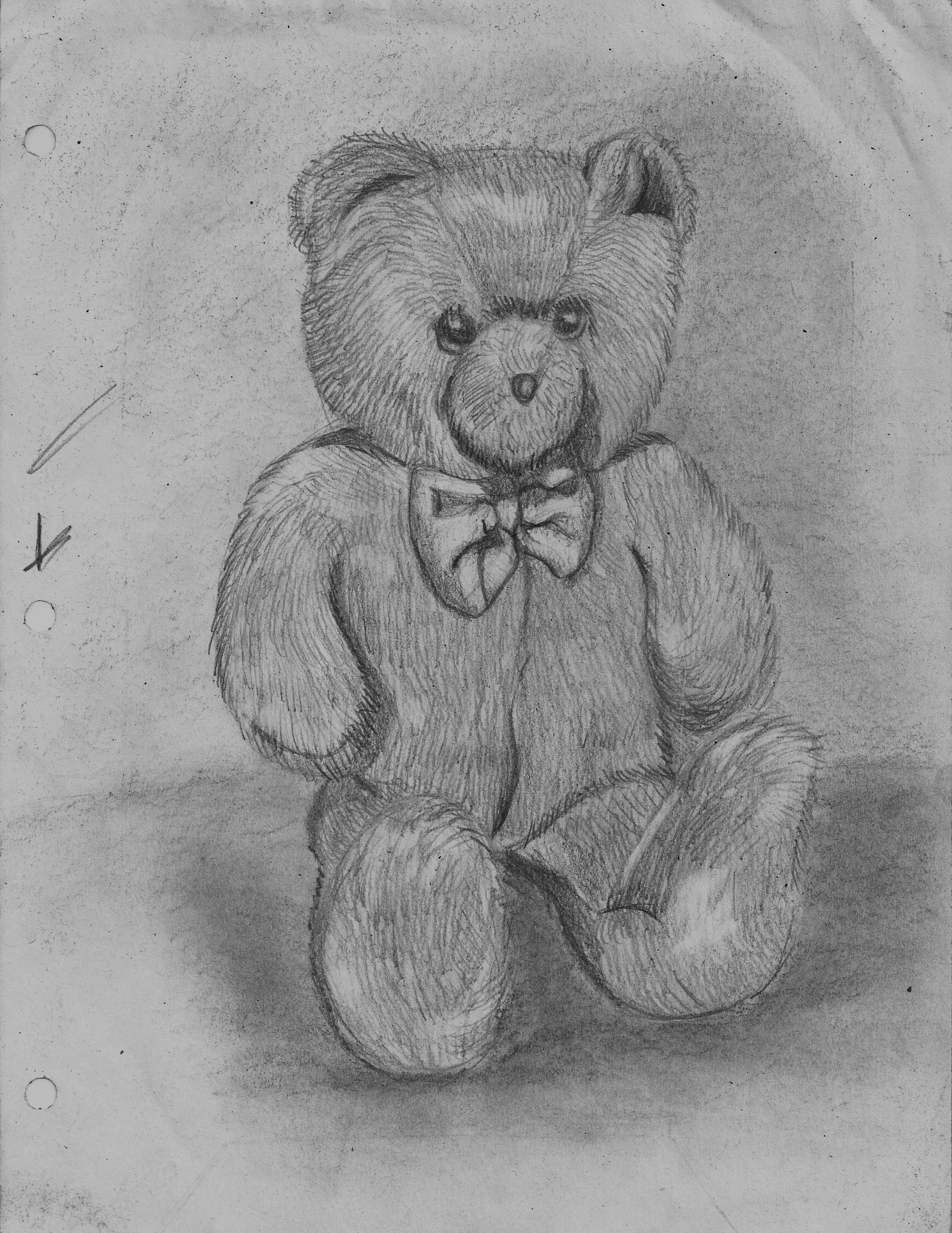 4. (17) Teddy Bear:Chair zebra