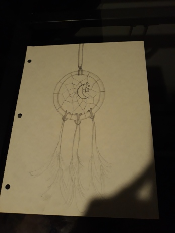 dreamcatcher pencil