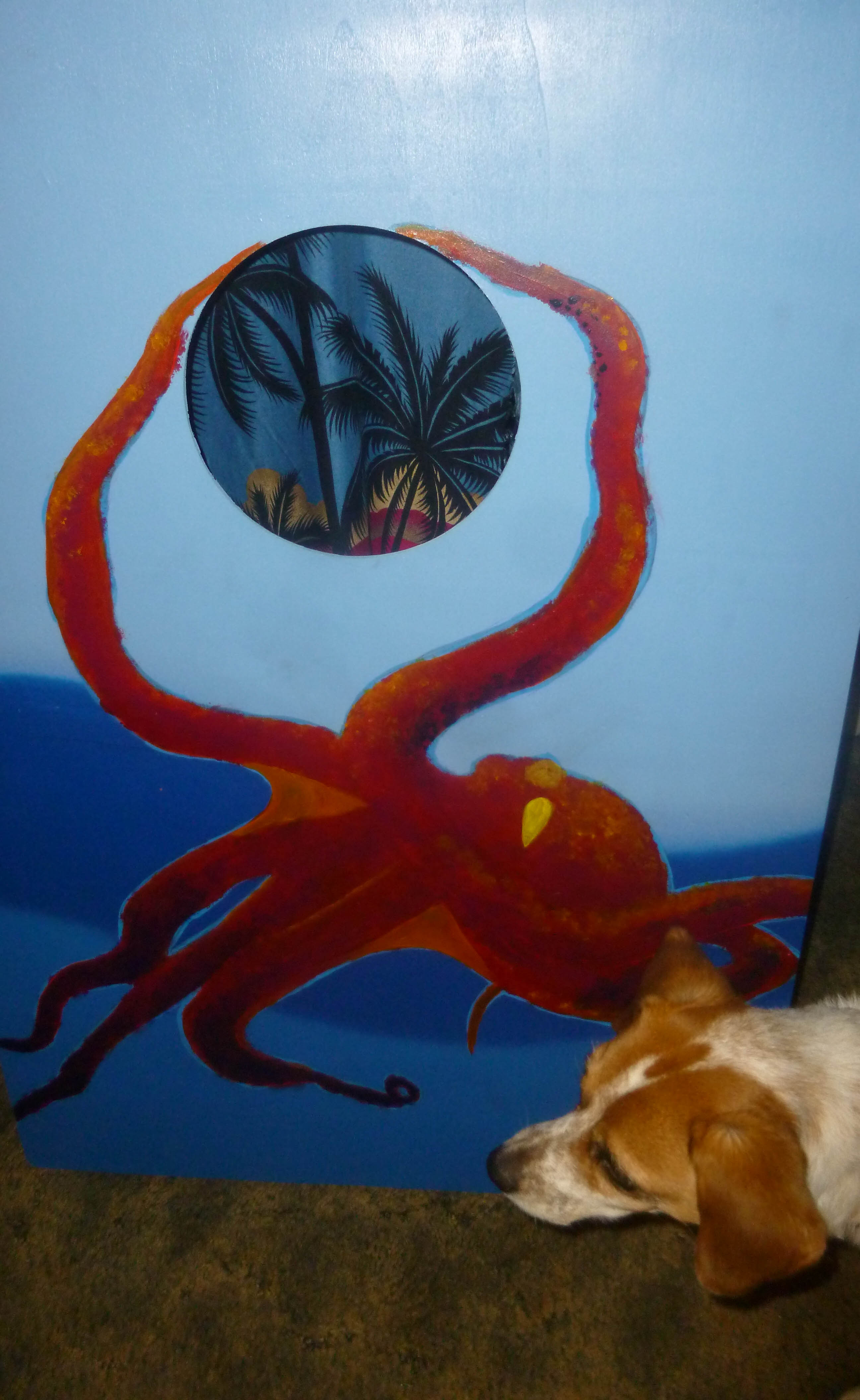 octopus and dog-1