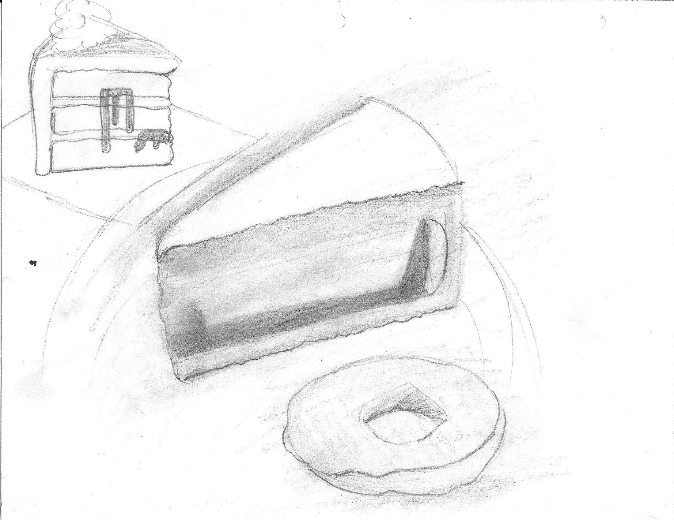 dessert sketches