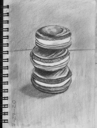 graphite macaroons