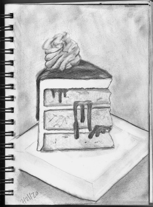 graphite three layer cake