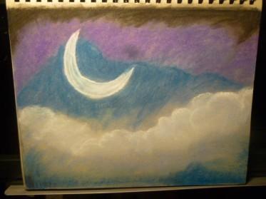 nupastel moon scene