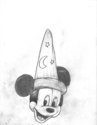Sorcerer's Hat Mickey 2