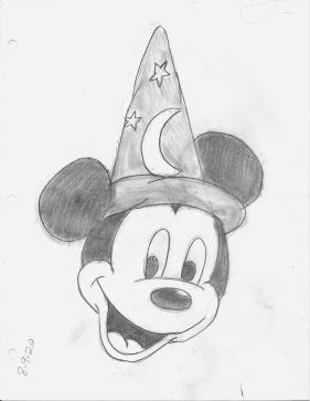 Sorcerer's Hat Mickey