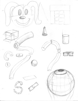 Warm Up sketches 1